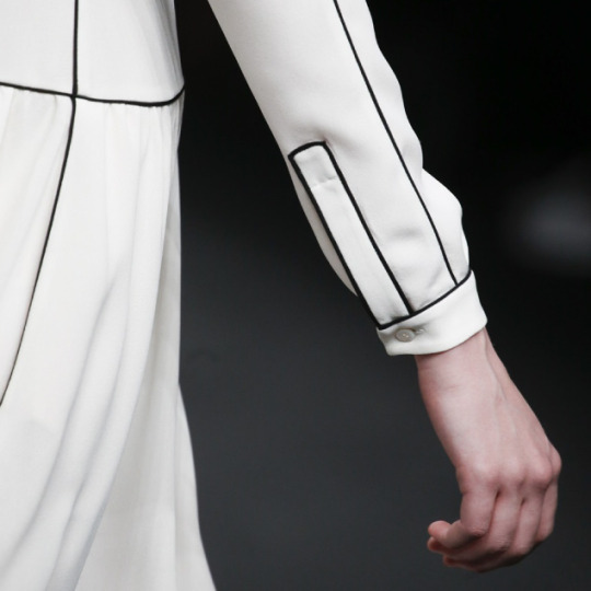 Geometric Monochrome at Valentino |The Cutting Class. Valentino, AW15, Paris.