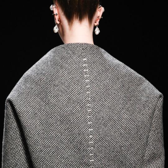 Pattern Shaping at Balenciaga | The Cutting Class. Balenciaga, AW15, Paris, Image 6.