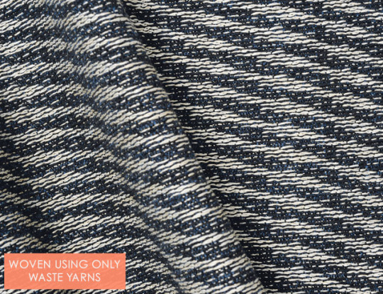 Recycled Yarns & 3D Weaving by Moa Hallgren - The Cutting Class