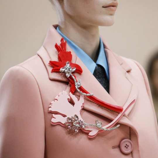Spongy Synthetics at Prada | The Cutting Class. Prada, AW15, Milan.