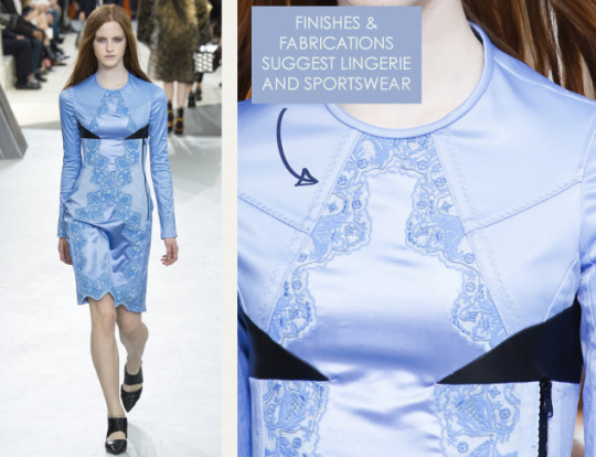 Wearable Innovation at Louis Vuitton | The Cutting Class. Louis Vuitton, AW15, Paris, Image 7. Finishes and fabarications suggest lingerie and sportswear.