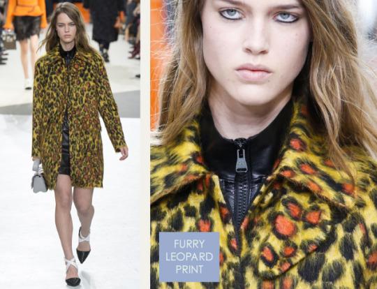 Wearable Innovation at Louis Vuitton | The Cutting Class. Louis Vuitton, AW15, Paris, Image 13. Furry leopard print.