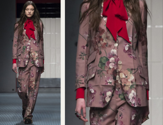 Crushed and Creased Tailoring at Gucci | The Cutting Class. Gucci, AW15, Milan, Image 15.