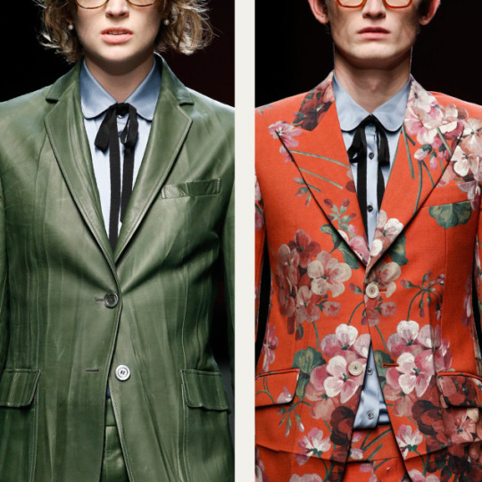Crushed and Creased Tailoring at Gucci | The Cutting Class. Gucci, AW15, Milan.