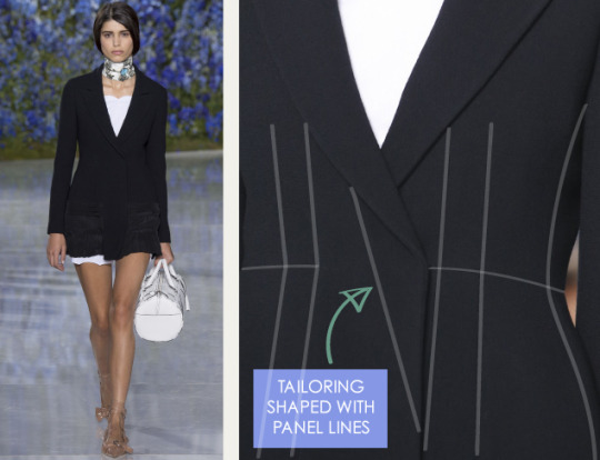 Pure Construction at Christian Dior | The Cutting Class. Christian Dior, SS16, Paris, Image 3.