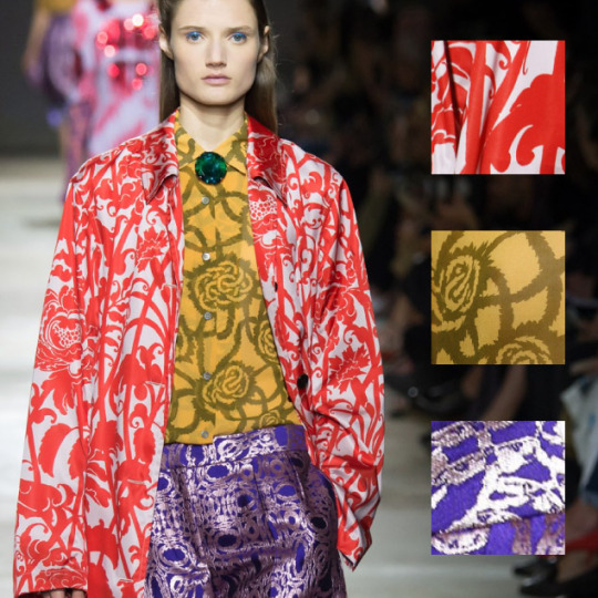 Coordinated Chaos at Dries Van Noten | The Cutting Class. Dries Van Noten, SS16, Paris, Image 1.