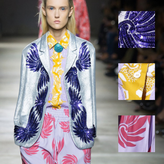 Coordinated Chaos at Dries Van Noten | The Cutting Class. Dries Van Noten, SS16, Paris, Image 2.