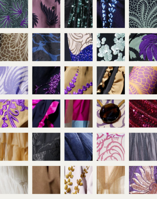 Coordinated Chaos at Dries Van Noten | The Cutting Class. Dries Van Noten, SS16, Paris, Fabric swatches part 3.
