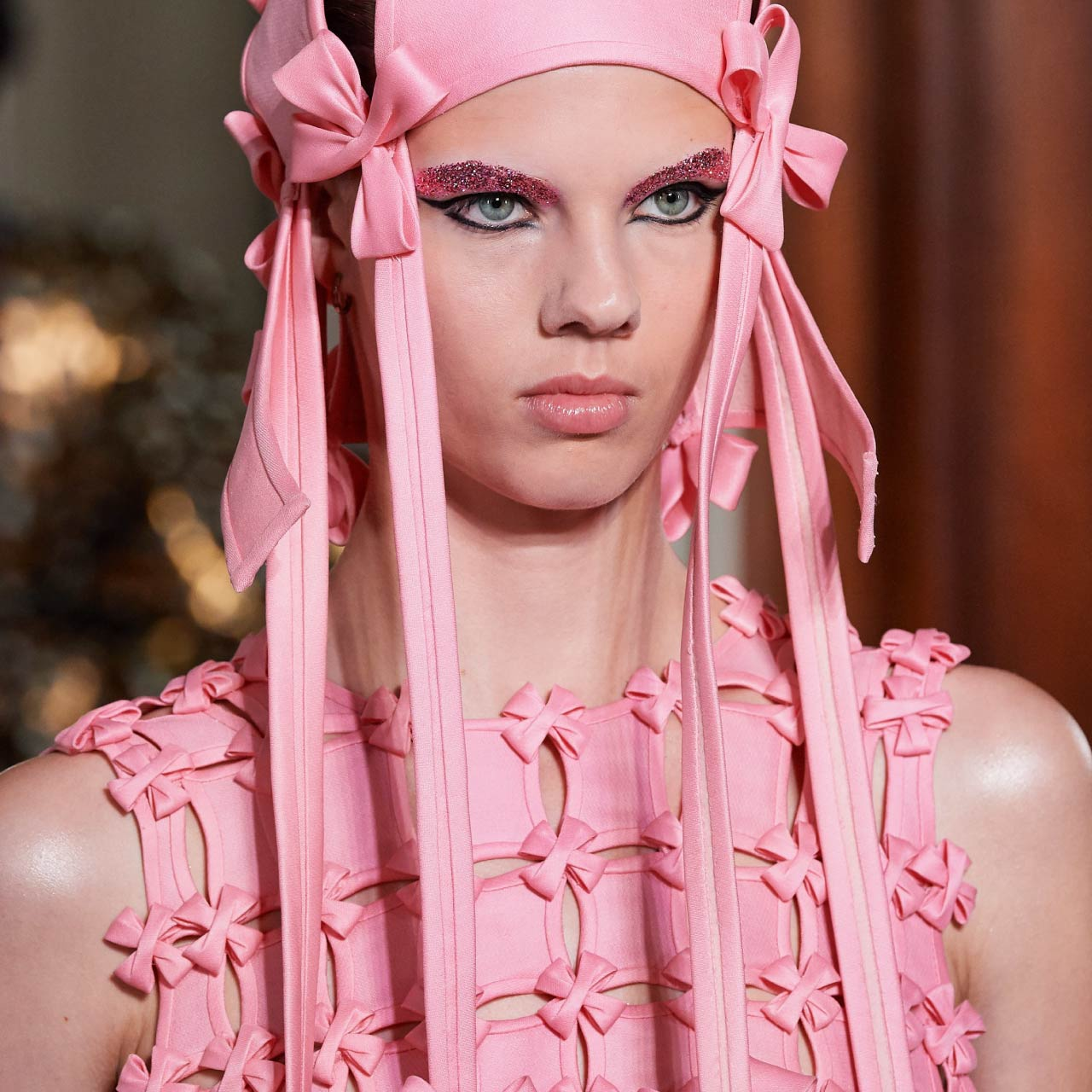 Glossary: Bias Binding at Valentino Couture AW19.