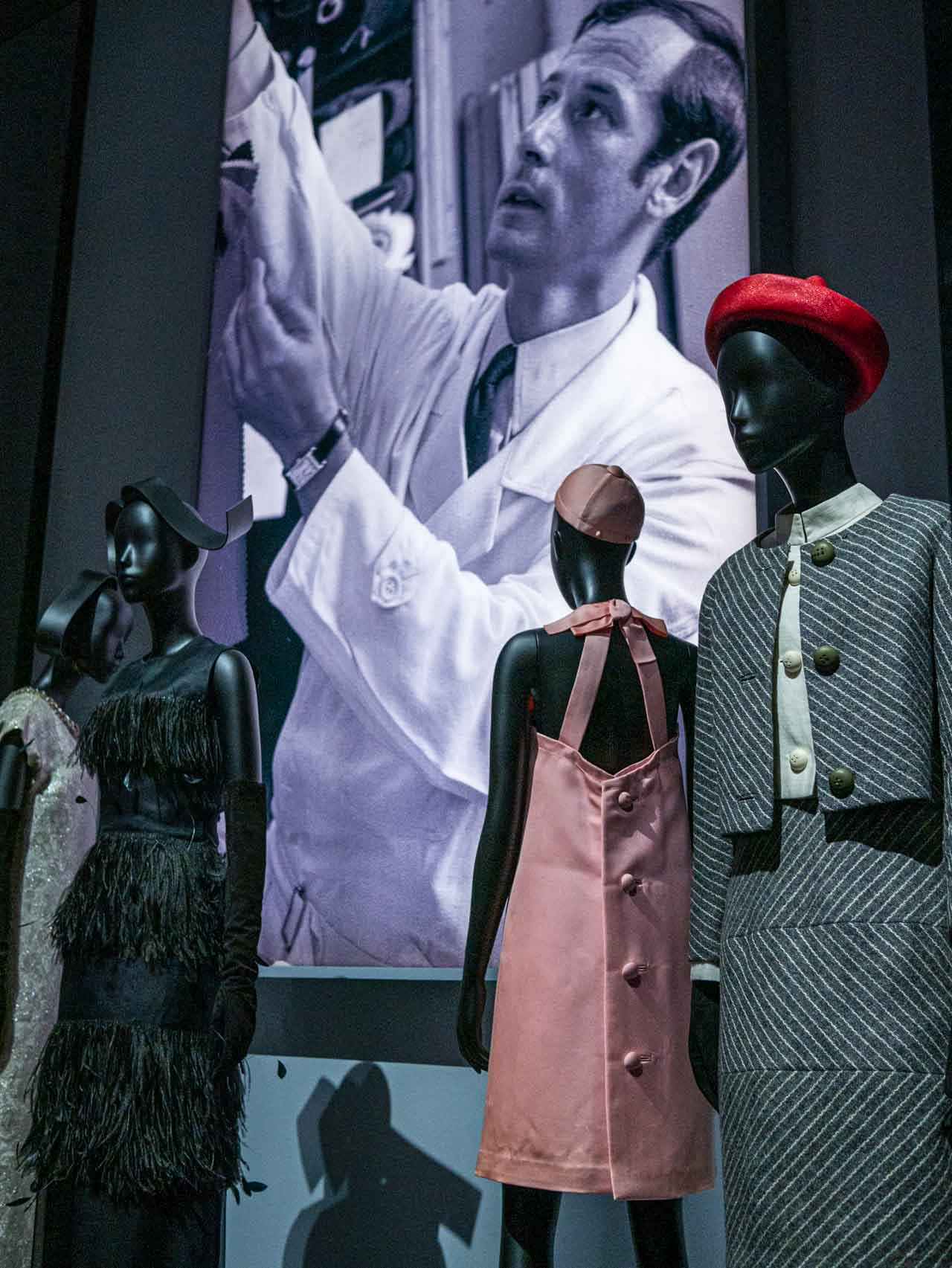 Designs by Marc Bohan for Christian Dior. Taken at the V&A exhibition © The Cutting Class, 2019.