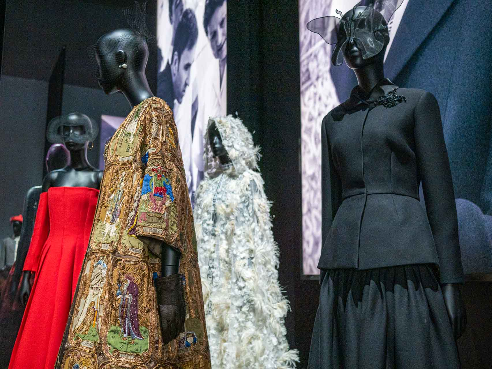 Designs by Maria Grazia Chiuri for Christian Dior. Taken at the V&A exhibition © The Cutting Class, 2019.