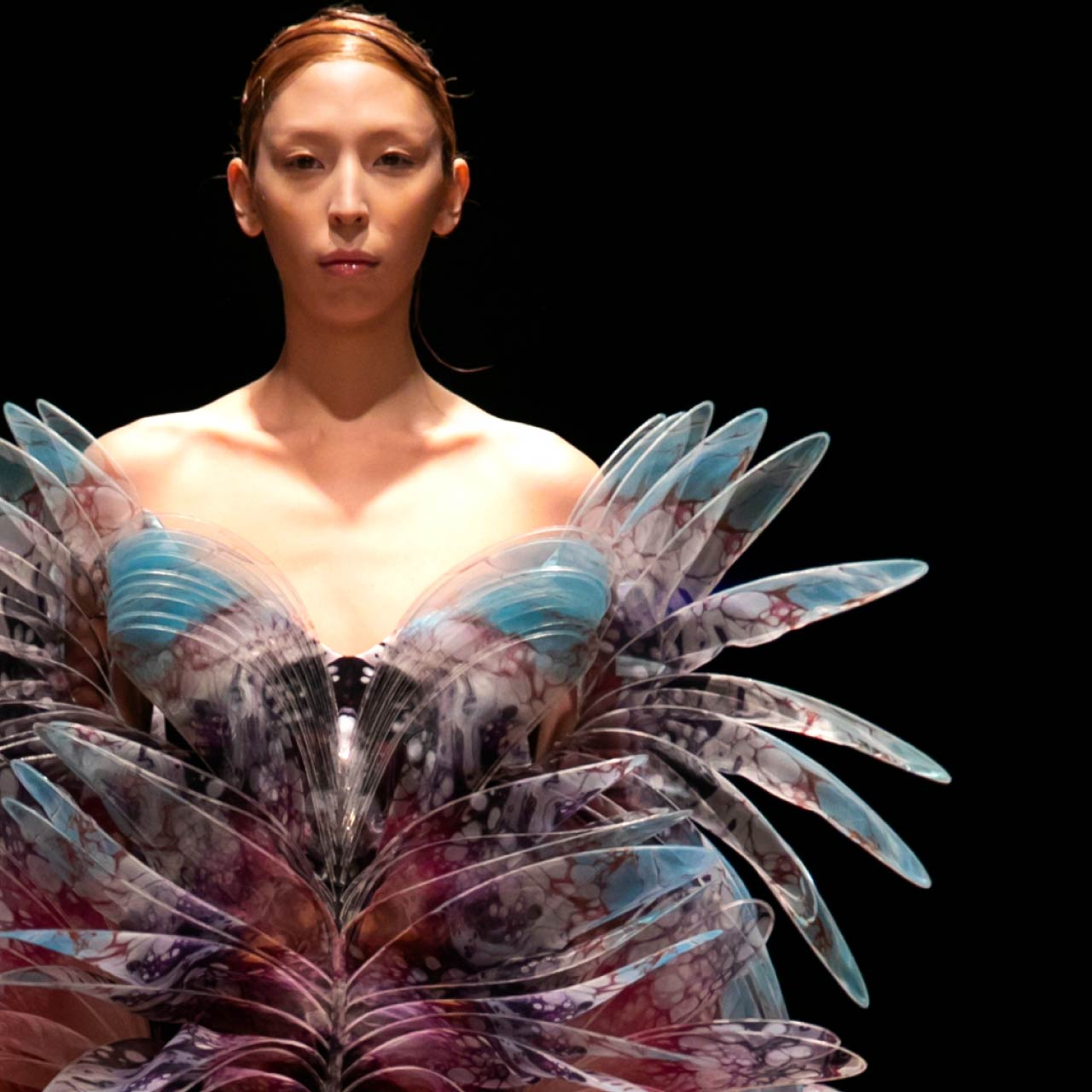 Contemporary Couture Techniques at Iris van Herpen | The Cutting Class. Spring-Summer 2020 Haute Couture.