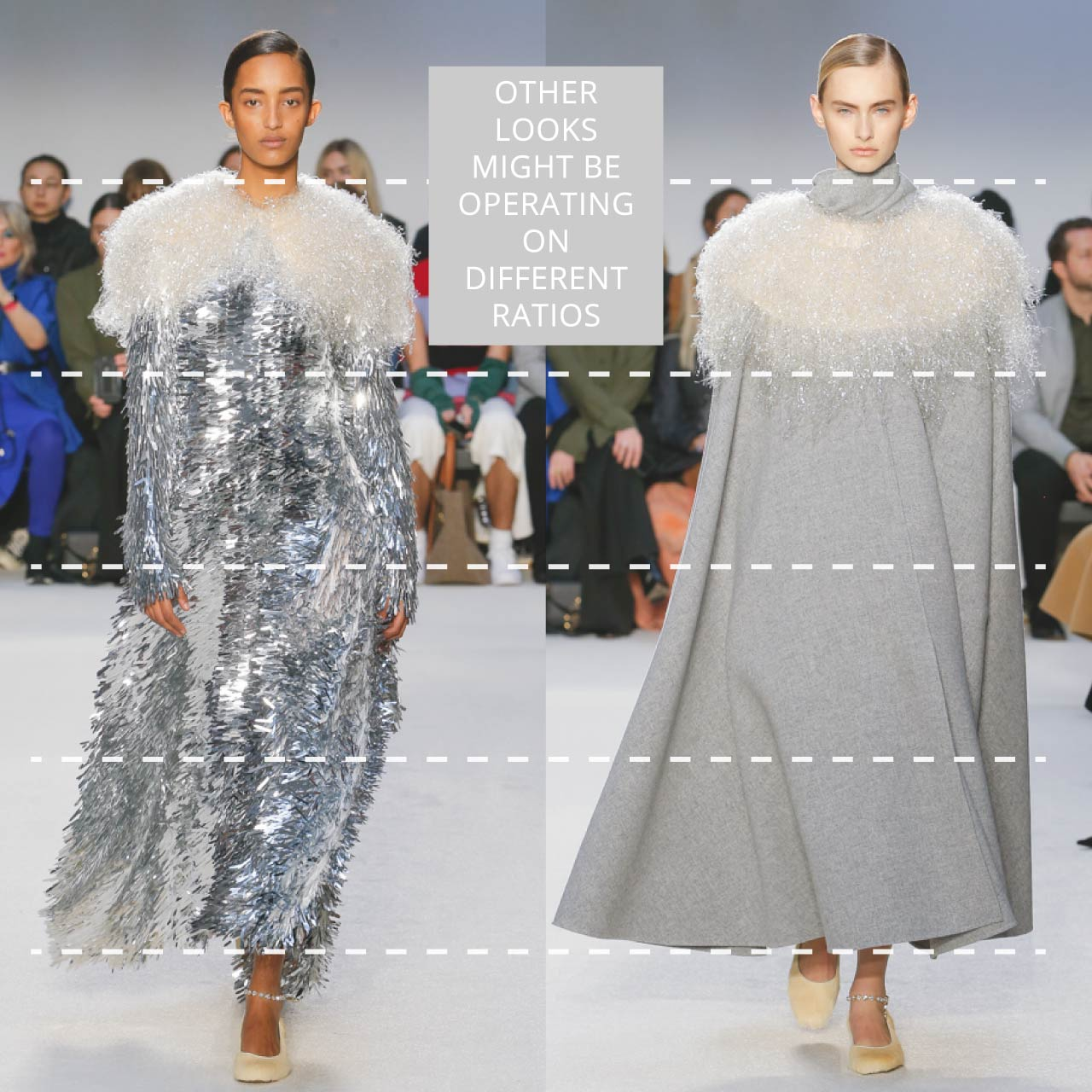 The Rule of Thirds Applied to JW Anderson | The Cutting Class. Other looks may be operating on different ratios. AW20.